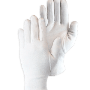 Handschoen Cotton Interlock White Bleached 20-240